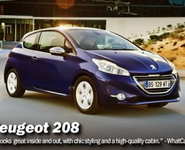 Peugeot 208 1.4 HDi Active 5dr Lease
