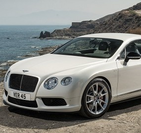 Bentley Continental car lease cheltenham