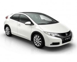 business car leasing honda civic hatchback