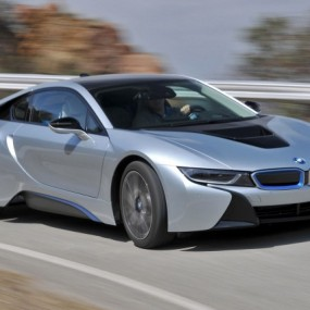 The BMW i8 joins the i3 as part of the firms i range of vehicles