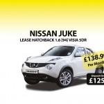 Great discounts on Nissan Juke