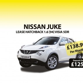 Great discounts on Nissan Juke