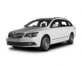 Skoda Superb Estate Elegance business lease