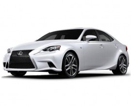 Lexus IS300h business lease deal