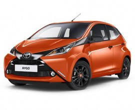 toyota aygo 1.0 VVT-i X-Play 5dr Lease