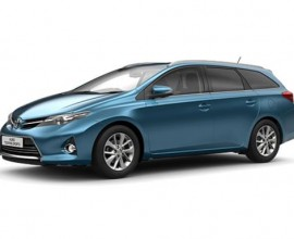 business car leasing toyota auris touring