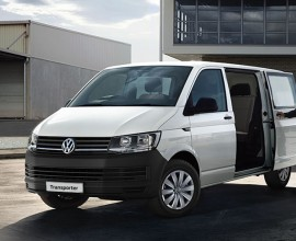 Volkswagen transporter Kombi new model van leasing