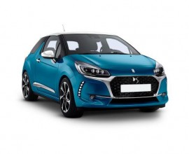 car leasing ds3 hatchback BlueHDI 100 elegance
