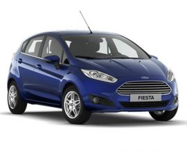 car lease ford fiesta hatchback 3door
