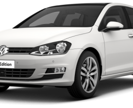 Car lease VW Golf 1.6 tdi GT Edition 5 Door