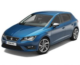 business car lease seat leon 2.0tsi Cupra black 290
