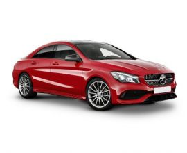 Lease mercedes benz cla class coupe 4door