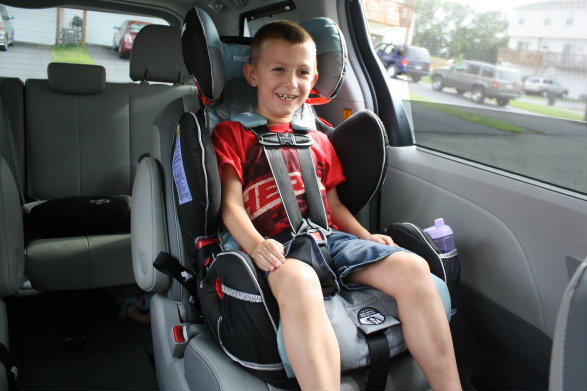What car seat to use for a 5 year old