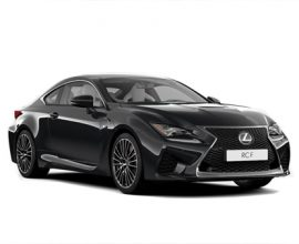 business car lexus rc f coupe 2door