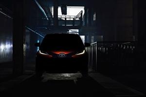 Toyota teaser of new Aygo