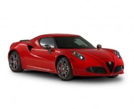 personal car leasing alfa romeo 4c