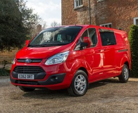 van lease Ford Transit Custom Double Cab