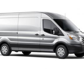 van leasing Ford Transit lwb
