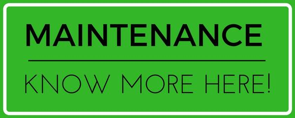What is a Maintenance Package - Car Lease 4 U