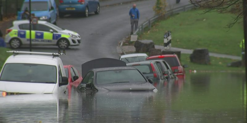 What to do when driving in a flood