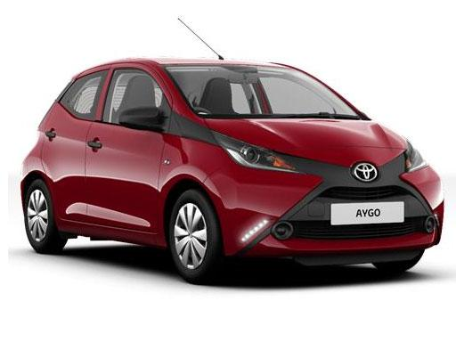 Lease toyota aygo hatchback 5door