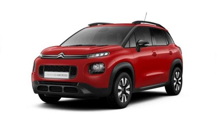 Lease citroen c3 aircross