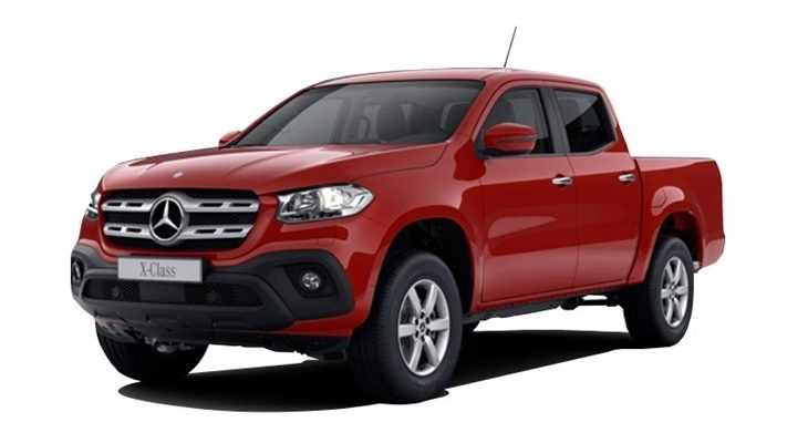 Lease mercedes benz x class double cab pickup