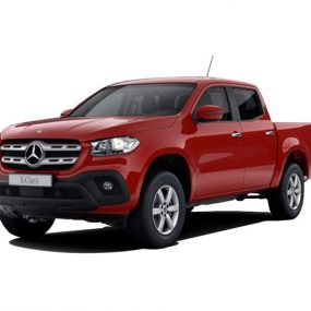 The New Mercedes X class pickup