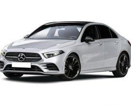 Lease mercedes benz a class saloon 4door