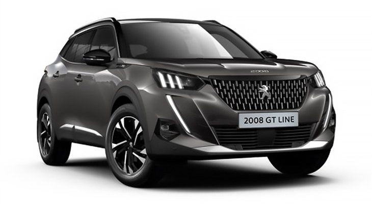 Lease Peugeot 2008 Crossover GT Line 50kWh Auto electric