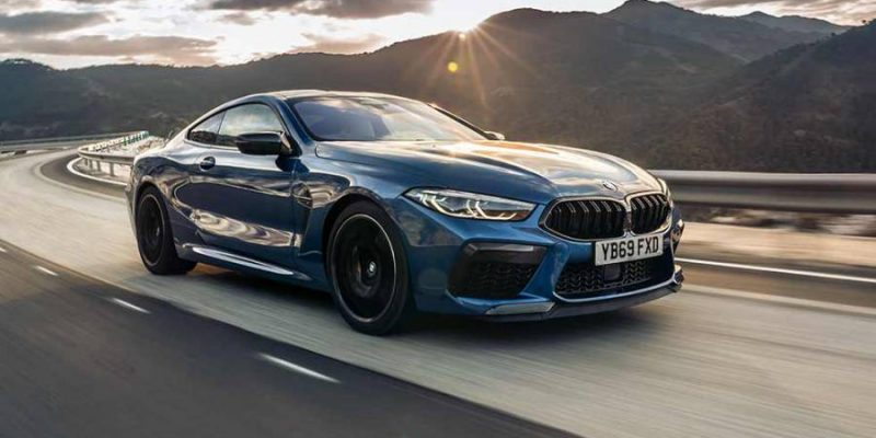 Lease BMW M8 Coupe 4.4 XDrive Competition Auto